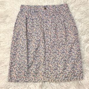 White Stag High Waisted Floral Skirt